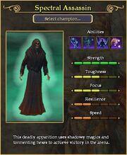 Spectral Assassin arena stats