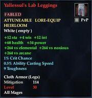 Yallessul's Lab Leggings