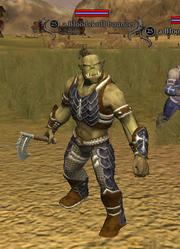A Bloodskull bouncer