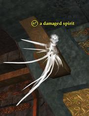 A damaged spirit