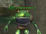 A froglok battler