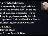 Aria of Malediction