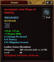 Ascendant's Arm Wraps of Stability