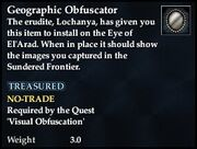 Geographic Obfuscator