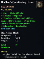 HooLoh Questioning Helm Stats