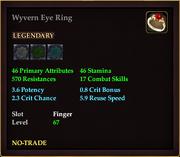 Wyvern Eye Ring