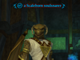 A Scaleborn soulsnarer