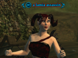 A lamia assassin