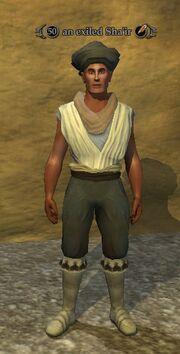 An exiled Sha'ir