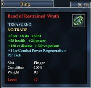 Band of Restrained Wrath