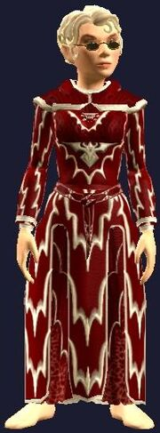 Festive Peppermint Robe (Equipped)