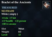 Bracelet of the Ancients