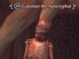 Galintari the Apocryphal
