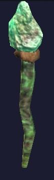 Green burynai shiny appear
