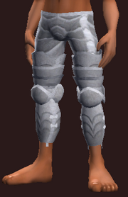 Knight's Legplates of Force (Equipped)
