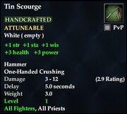 Tin Scourge