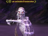 An animated tormentor
