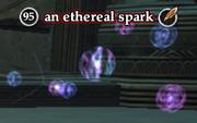 An ethereal spark