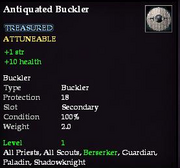 Antiquated Buckler