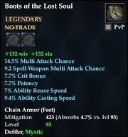 Boots of the Lost Soul