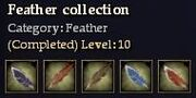 CQ feather feather Journal