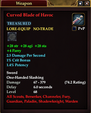 Curved Blade of Havoc