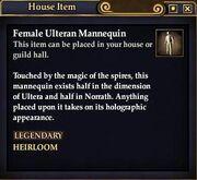 Female Ulteran Mannequin
