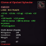Gloves of Opulent Splendor