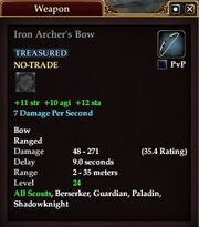 Iron Archer's Bow