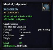Maul of Judgement