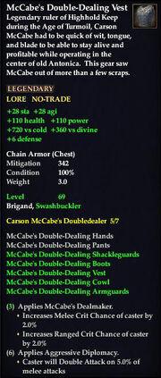 McCabe's Double-Dealing Vest