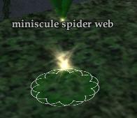 Miniscule spider silks