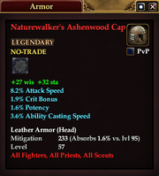 Naturewalker's Ashenwood Cap