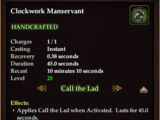 Clockwork Manservant