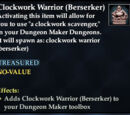 Clockwork Warrior (Berserker)