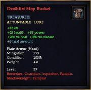 Deathfist Slop Bucket