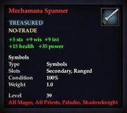 Mechamana Spanner
