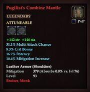 Pugilist's Combine Mantle