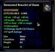 Tormented Bracelet of Doom