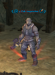 A Zek inquisitor
