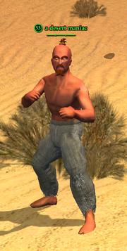 A desert maniac