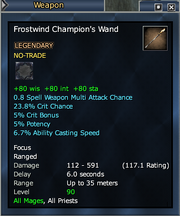 Frostwind Champion's Wand