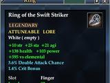 Ring of the Swift Striker
