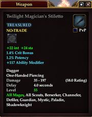 Twilight Magician's Stiletto