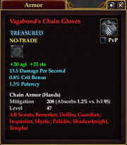 Vagabond's Chain Gloves
