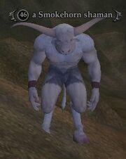 A Smokehorn shaman