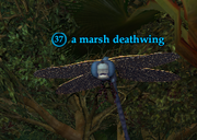 A marsh deathwing