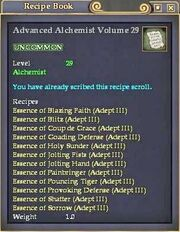 Advanced Alchemist Volume 29