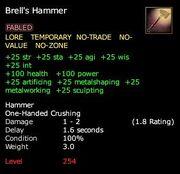 Brell's Hammer (Weapon)