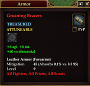 Groaning Bracers (Armor)